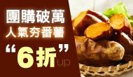 雙十★台灣地瓜高纖6折