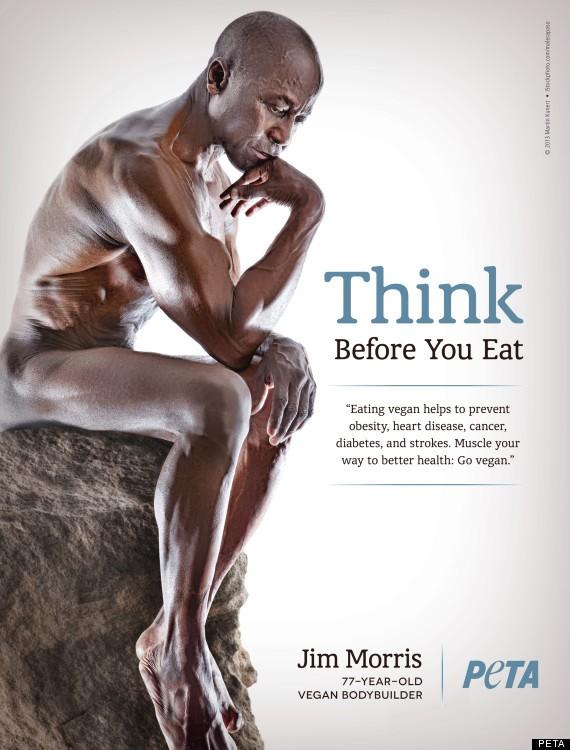 77歲純素健美先生~Jim Morris:愛自己?就從吃素開始  suiis素食資訊