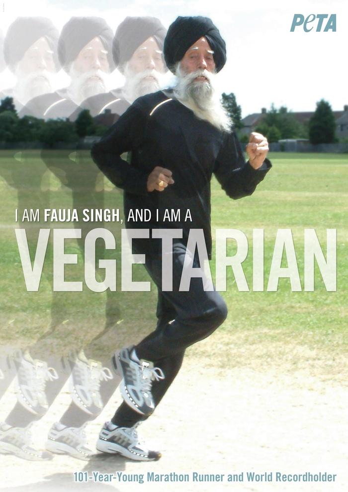 名人素食觀點-Fauja Singh:suiis素易