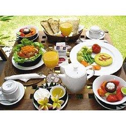經由旅行社特別安排,峇里島的素食餐非常豐盛。<br>圖/天銨旅行社提供